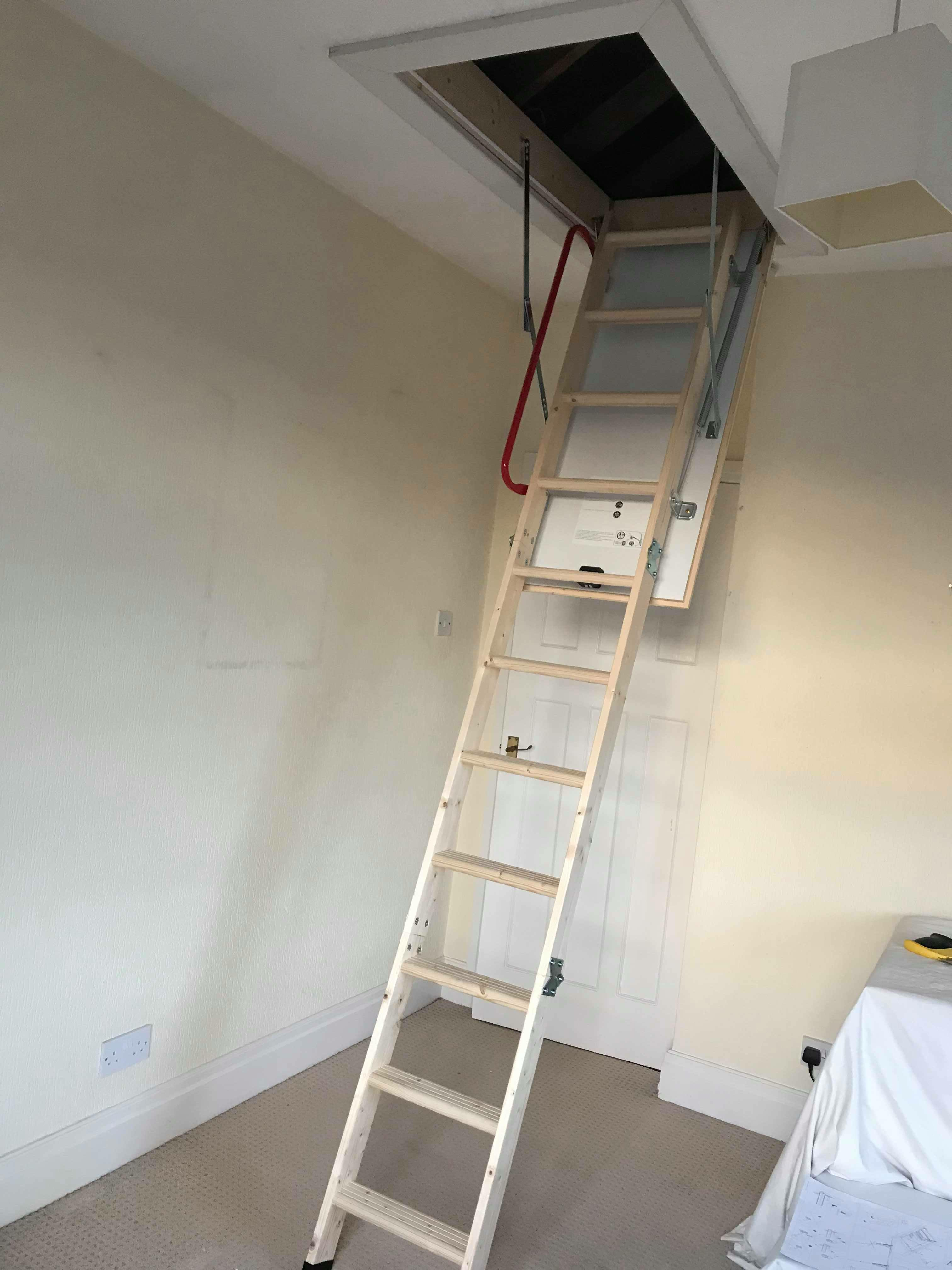 Loft Ladder Bare